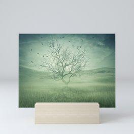 Spooky meadow Mini Art Print