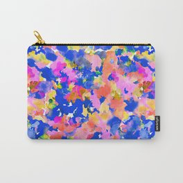 Floral splash Carry-All Pouch