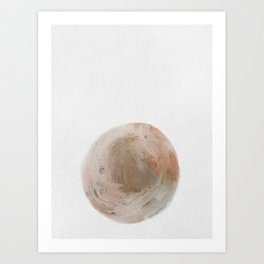 Right Here and Now Art Print