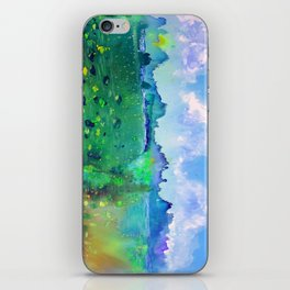 Lily pads with a Mountain View iPhone Skin