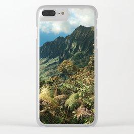 Puu O Kila Clear iPhone Case