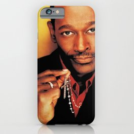 Luther Vandross on TIDAL iPhone Case