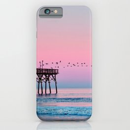 Beach Birds Sunset  iPhone Case