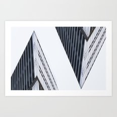 In the House. Art Print