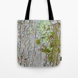 Mossy Bark Tote Bag