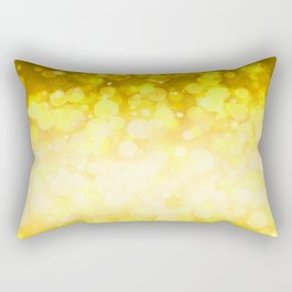 Golden pattern Rectangular Pillow