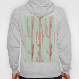 Cactus Stack Pink + Mint Hoody