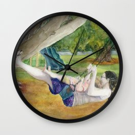 Only Way to Fly Wall Clock