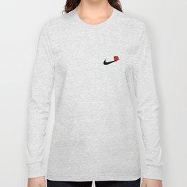ROSE SWOOSH Long Sleeve T-shirt