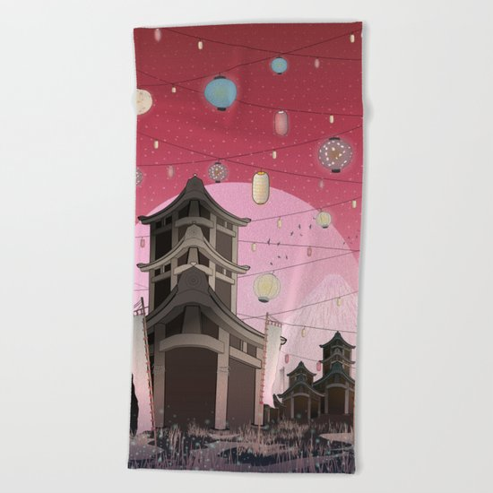 Places to remember... Beach Towel