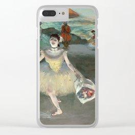 Edgar Degas - Dancer With Bouquet Clear iPhone Case
