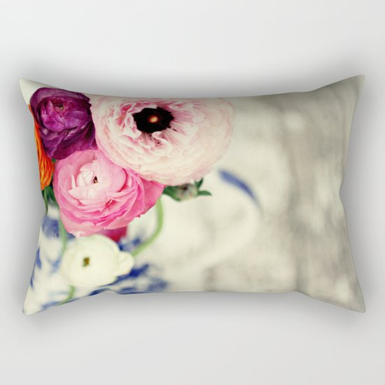 colors of happiness Rectangular Pillow