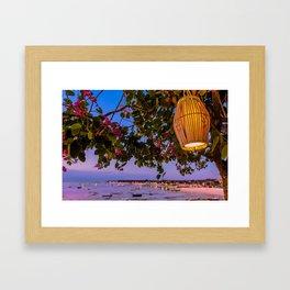 Bali Vista Framed Art Print