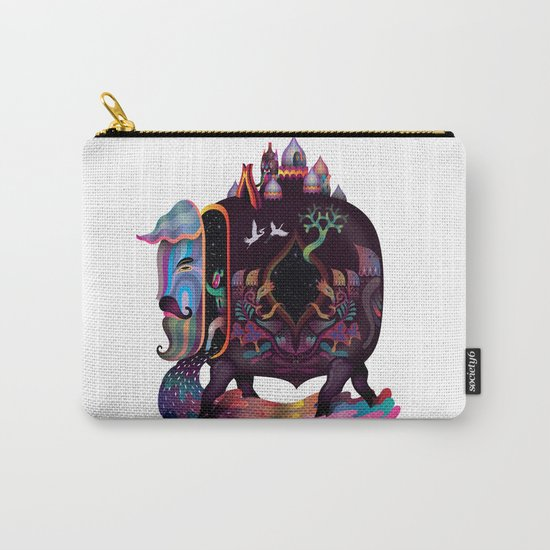 Carriage of civilization Carry-All Pouch