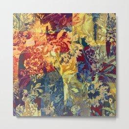hide and seek floral 2 Metal Print