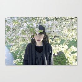 Smooth Romance Canvas Print