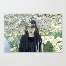 Smooth Romance Canvas Print