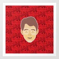 ferris bueller Art Prints featuring Ferris Bueller by Kuki