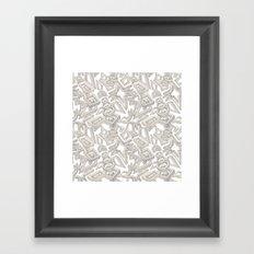 The Building Blocks Framed Art Print