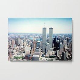 New York City Skyline - World Trade Center Metal Print