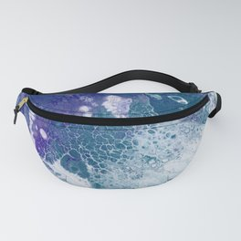 Purple and Teal Whisper Fanny Pack