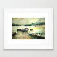 istanbul Framed Art Prints featuring  Istanbul by Baris erdem