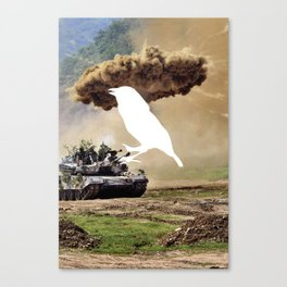 Tank Bird  Canvas Print