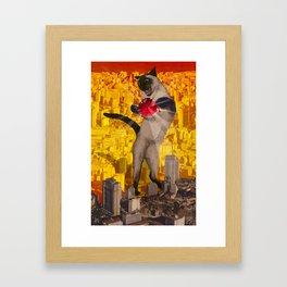 Catomic Framed Art Print