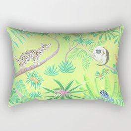 Tropical animals Rectangular Pillow
