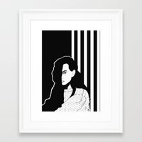mad Framed Art Prints featuring MAD by Raili Randmaa