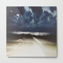 Midnight Highway Metal Print