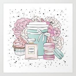 Sweet Life CC Art Print