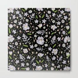 Leaves and flowers (10) Metal Print