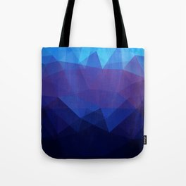 Blue abstract background Tote Bag