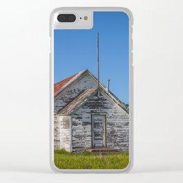 Saron Church and Freedom Township School, North Dakota 3 Clear iPhone Case