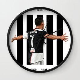 football player Wall Clock
