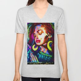 The Modern Virgen Unisex V-Neck
