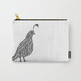 Quail Joshua Tree By CREYES Carry-All Pouch