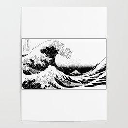 Kanagawa Oiled Poster