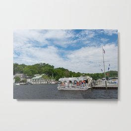 Saugatuck Chain Ferry Metal Print