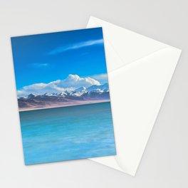 blue landscape #society6 #decor #buyart Stationery Cards