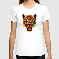 jaguar T-shirts featuring jaguar by Alvaro Tapia Hidalgo