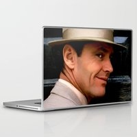 jack nicholson Laptop & iPad Skins featuring Jack Nicholson @ China Town by Gabriel T Toro