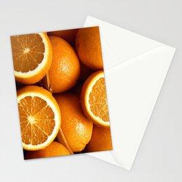 Oranges Piled Up Stationery Cards