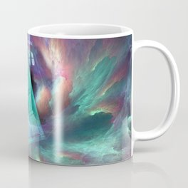 TARDIS EXPLODES Coffee Mug