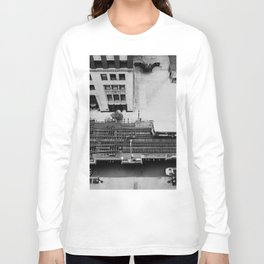 looking down on the tracks ... Long Sleeve T-shirt