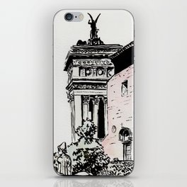 The lovers of the Capitoline Hill - Rome iPhone Skin