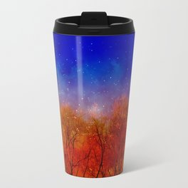 Night on fire Travel Mug