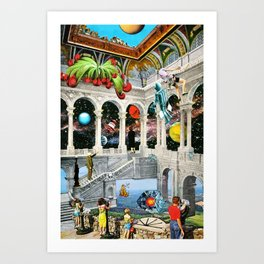 Three Minutes to Nirvana Art Print