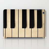 piano iPad Cases featuring Piano by Sweet Moments Captured